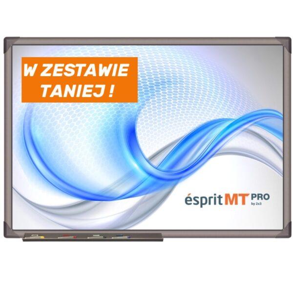 tablica interaktywna esprit mt pro ZESTAW WALL Z PROJEKTOREM