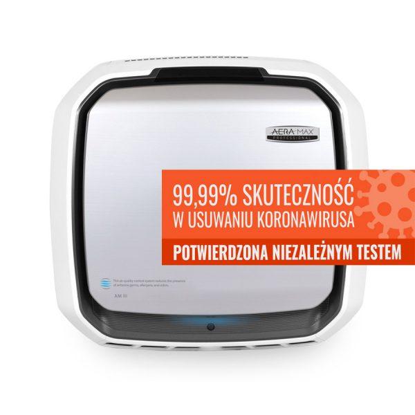 Oczyszczacz profesjonalny AeraMax Pro 3 usuwanie koronawirusa