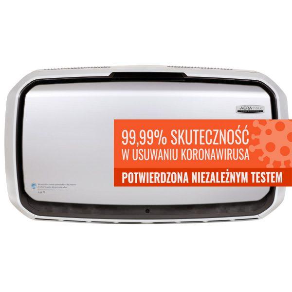 Oczyszczacz powietrza AeraMax Pro 4 usuwanie koronawirusa
