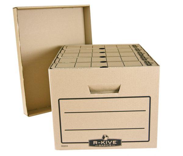 Karton archiwizacyjny na segregatory i pudełka archiwizacyjne