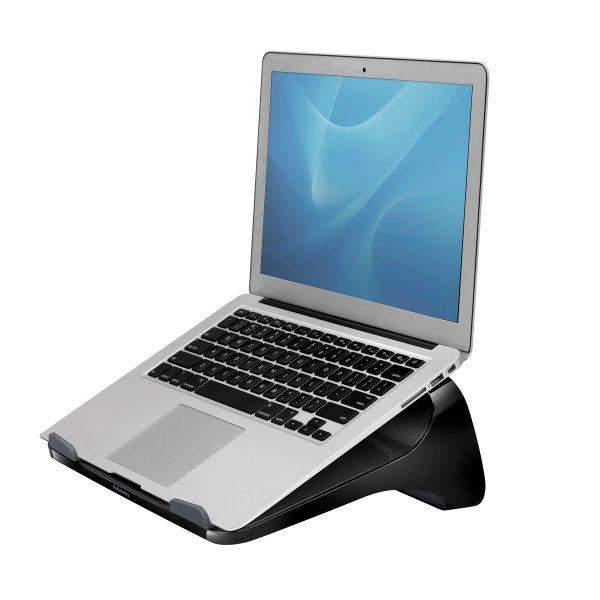 I SpireBlk LaptopLift HeroLeft wLaptop