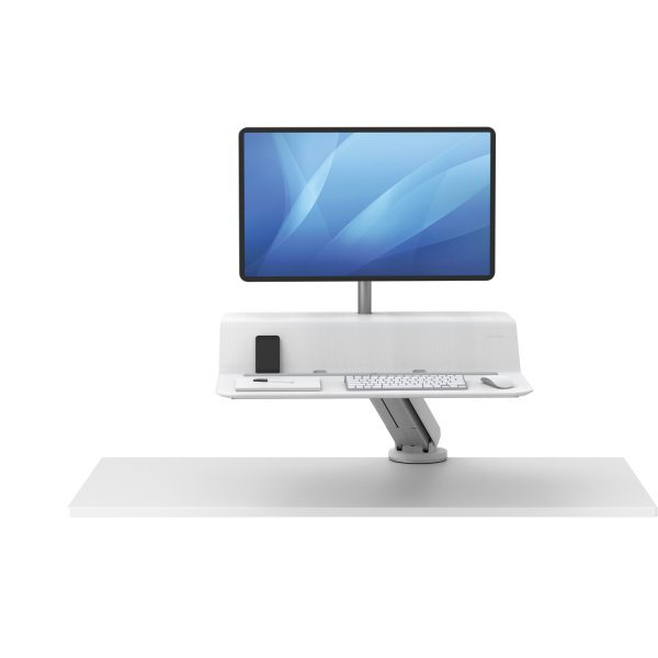 dla dystrybutorow 8081701 Sit Stand Lotus RT 1 monitor bialy F Up