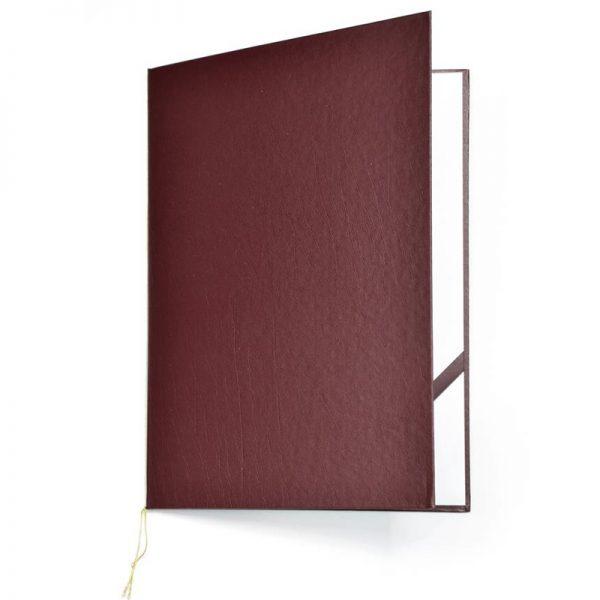 okładka na dyplom standard bordowa