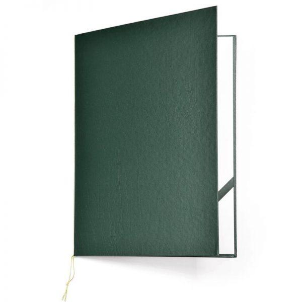 okładka na dyplom standard zielona