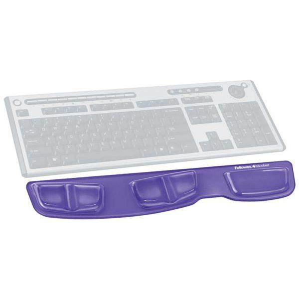 podkładka health v crystal fioletowa przed klawiaturę