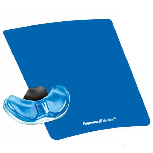 podkładka pod mysz i nadgarstek health v palm crystal niebieska