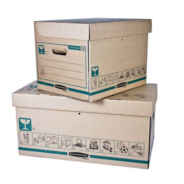 pudła extra strong bankers box fellowes