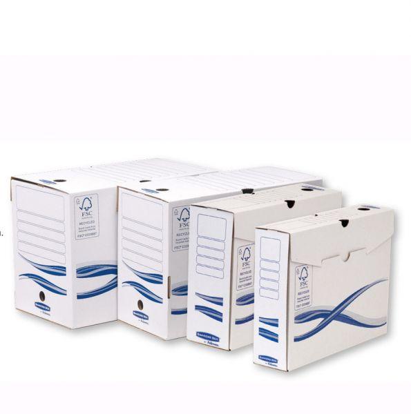 pudełka archiwizacyjne A4+ powiększony format A4