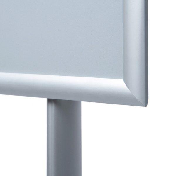 stojak informacyjny menuboard z ramą owz