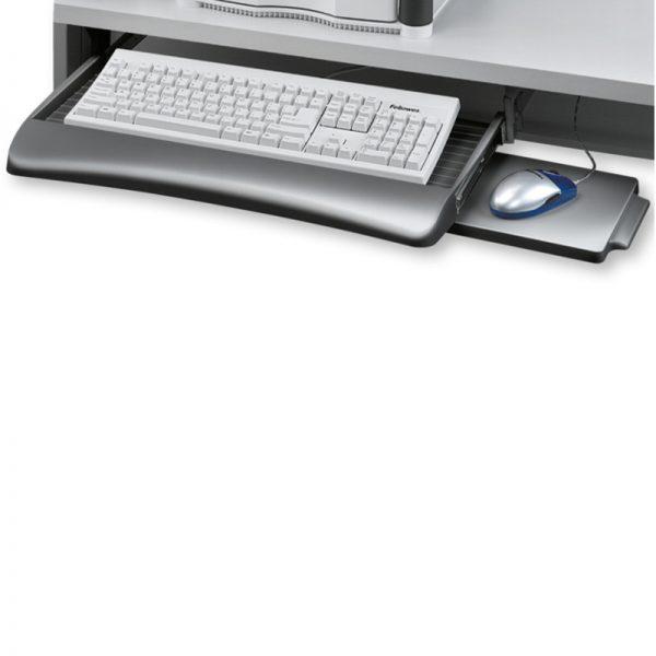 szuflada na klawiaturę fellowes z podstawką pod mysz