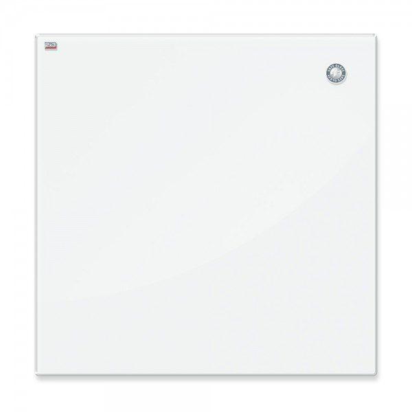 tablica szklana magnetyczna biala 45x45cm zaokraglone narozniki bezpieczne szklo esg