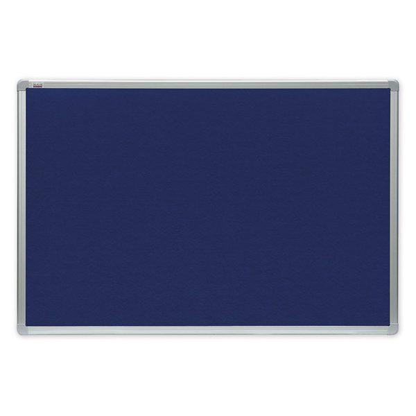 tablica tekstylna niebieska officeboard
