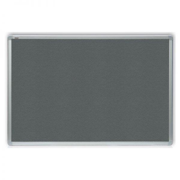 tablica tekstylna szara officeboard