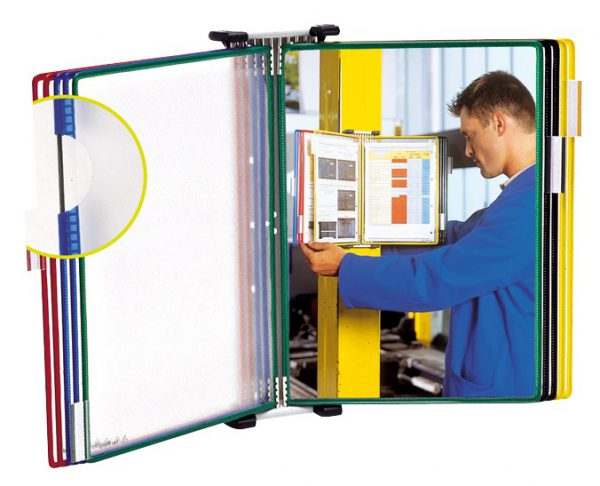 Tarifold ścienny ramki A4 panel system prezentacyjny