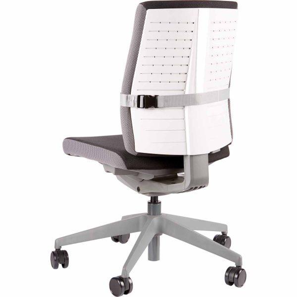 www 8042201 ISpire LumbarCushion Grey Chair Back