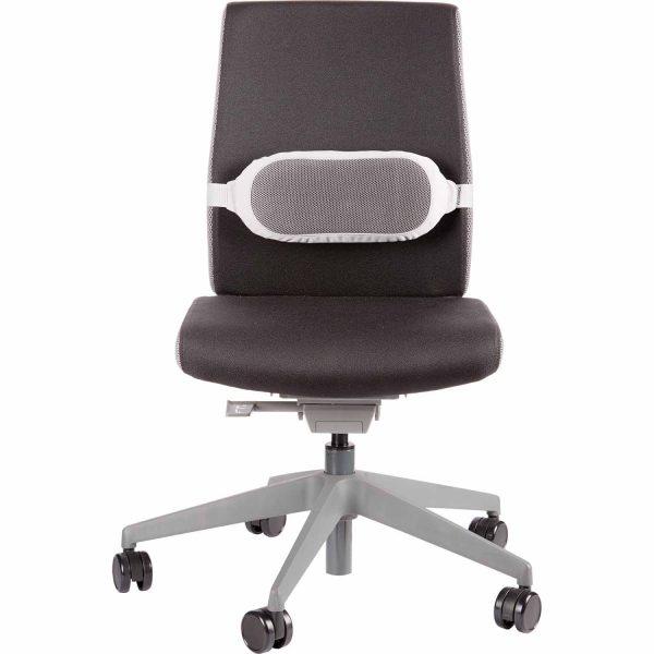 www 8042201 ISpire LumbarCushion Grey Chair F
