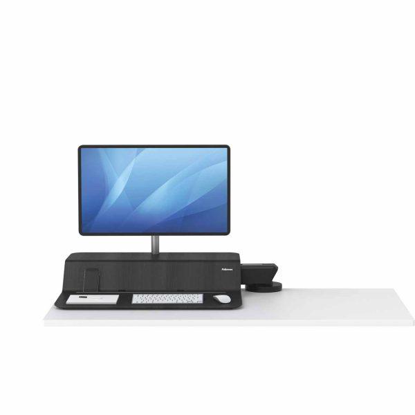 www 8081501 Sit Stand Lotus RT 1 monitor czarny F Dn