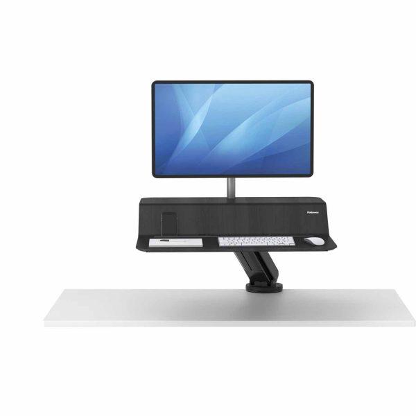 www 8081501 Sit Stand Lotus RT 1 monitor czarny F Up