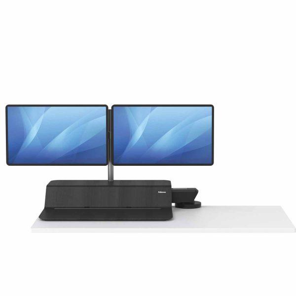 www 8081601 Sit Stand Lotus RT 2 monitory czarny F Dn noProp