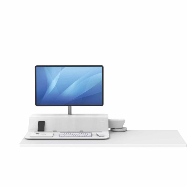 www 8081701 Sit Stand Lotus RT 1 monitor bialy F Dn