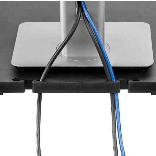 www 91693 Podstawa pod monitor LCD Standard grafitowa CableManagement2