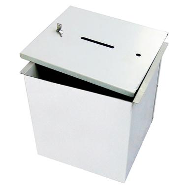 urna wyborcza metalowa otwieranie