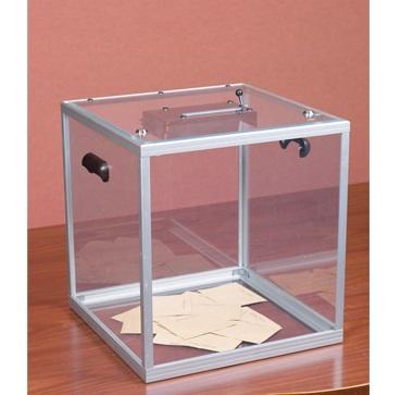 urna wyborcza pleksi