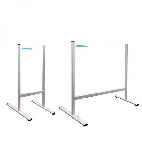 Divider osłona z pleksi na biurko na ladę ścianka ochronna