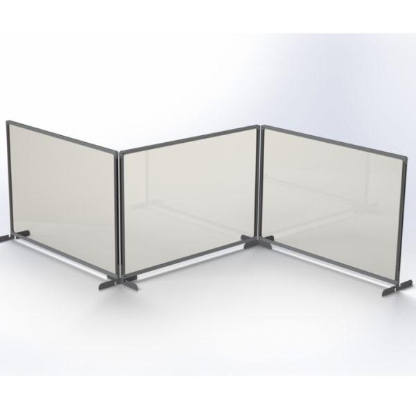 osłona ochronna na biurko MB 3 części