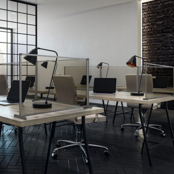 osłona ochronna na biurko MB w biurze