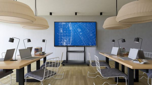 monitor interaktywny optoma biuro