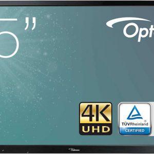 monitor interaktywny optoma op751rke 75 cali