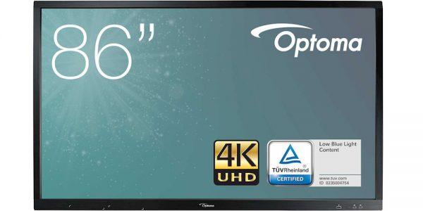 monitor interaktywny optoma op861rke 86 cali