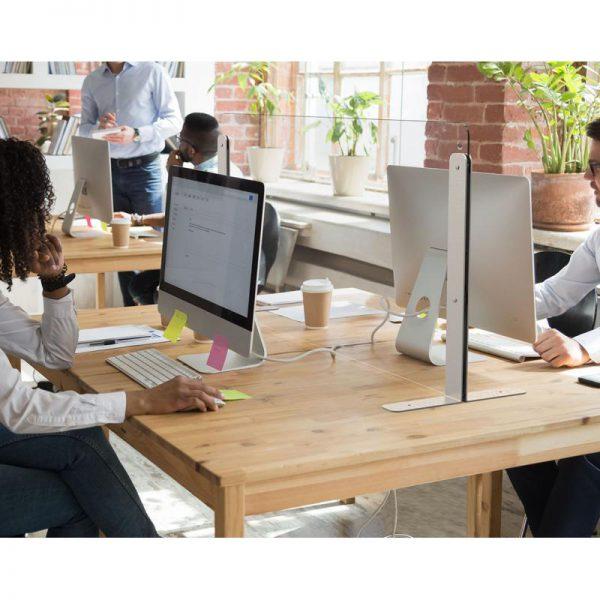 osłona ze szkła przegroda na biurko