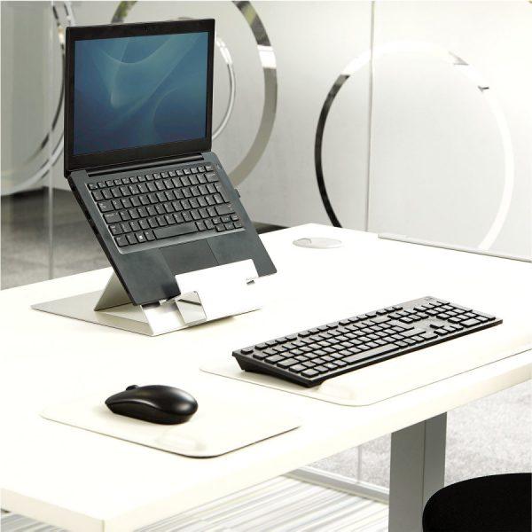 Podstawa pod laptop Hylyft ustawienie na biurku
