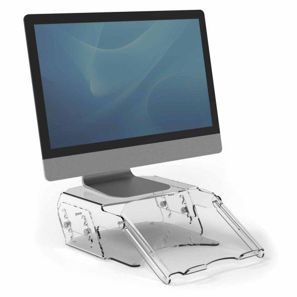 www 9731201 Regulowana podstawa pod monitor i dokumenty Clarity M R